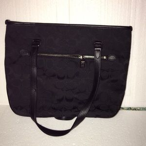 Coach Bags - Authentic Black Coach Purse. Great condition.